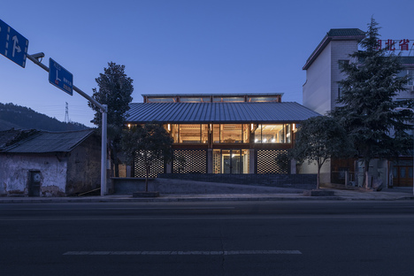 LUO Studio, a community centre in Yuanheguan