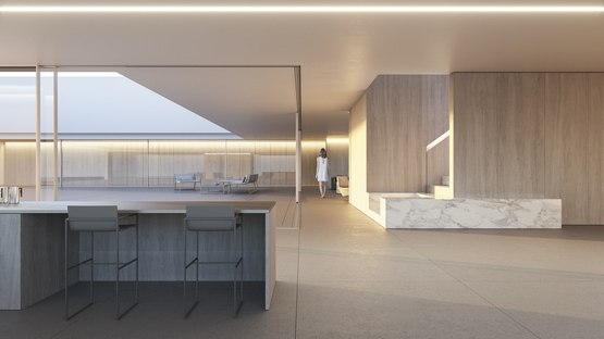 Compluvium House, Fran Silvestre Arquitectos inspired by antiquity