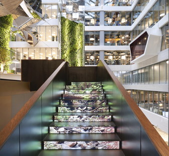 Evolution Design completes the new Sberbank headquarters in Moscow