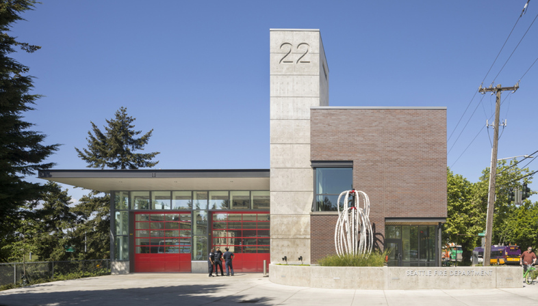 Weinstein A+U and the new fire station 22 in Seattle