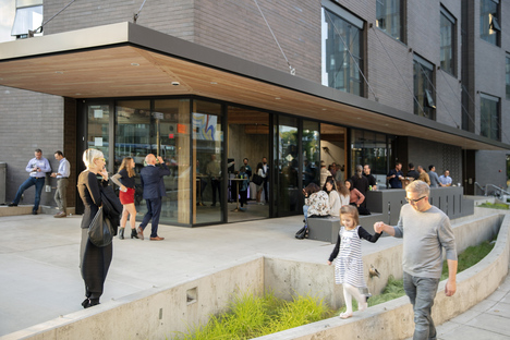 Skylab completes Sideyard, a building to strengthen the neighbourhood's connections with Portland