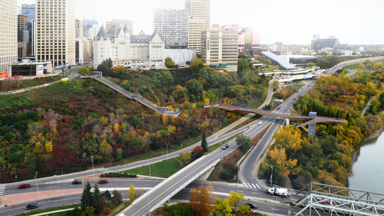 Mechanized River Valley Access in Edmonton, Canada by DIALOG