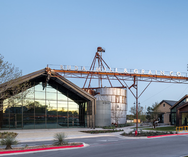 Buda Mill and Grain Co., adaptive reuse in Texas by Cushing Terrell
