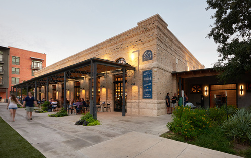 Clayton & Little for The Bottling Department Food Hall in San Antonio, Texas