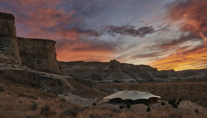 Camp Sarika by Amangiri, retreat in the wilderness of Utah