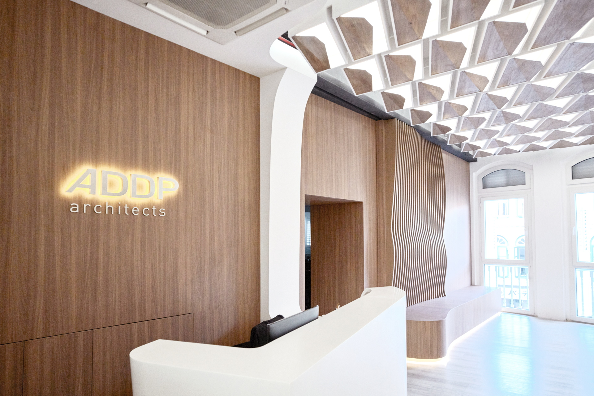 Owiu New Visual Identity Office Design For Addp In Singapore Livegreenblog