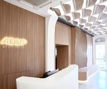 OWIU new visual identity & office design for ADDP in Singapore
