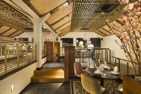 A restaurant with exotic flair, Indochine at Ingolstadt Village