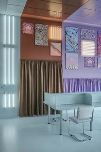 Masquespacio has designed the Cabinette co-working space in Valencia