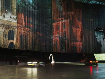 Boijmans Ahoy Drive-Thru Museum in Rotterdam