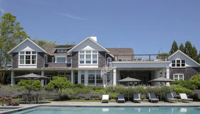 The makeover of a holiday house in the Hamptons