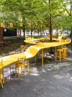 ADHOC architectes, Your Place at the Table, installation in Montreal