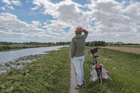 Rotterdam by bike, from countryside to canals