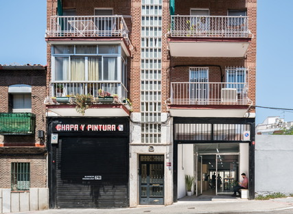 The new headquarters of the Boa Mistura collective in Madrid