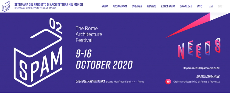 Second edition of the Rome architecture festival