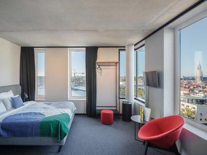 The Student Hotel in Delft, sustainable accommodation by KCAP