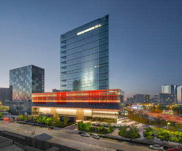 CLOU Architects designs the Shoukai Vanke Centre Beijing