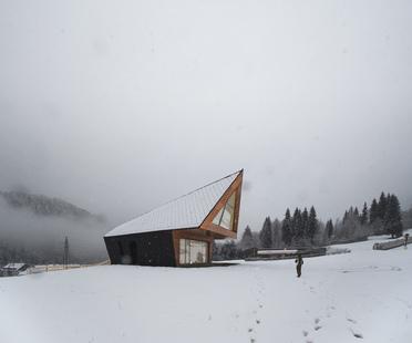 Claudio Beltrame designs the new ski school in Tarvisio