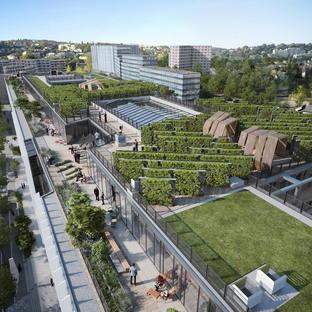 SHIFT, sustainable rehabilitation by Arte Charpentier Architectes