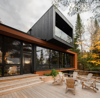 Figurr Architects Collective, eco-friendly prefab for the weekend