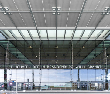Opening of BER, Berlin's new airport by gmp