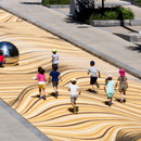Moving Dunes, an installation by NÓS in Montreal