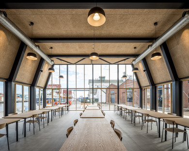 ADEPT and the Braunstein Taphouse, architecture designed for disassembly