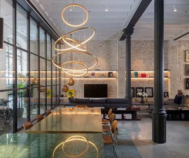 Kirsten Schwalgien, award-winning interior in a historical setting in Barcelona
