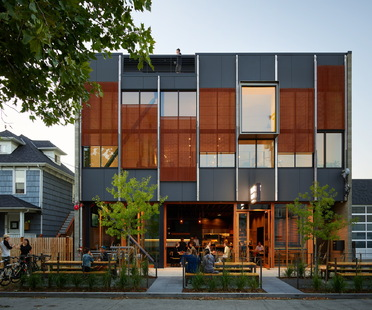 Klotski by Graham Baba Architects, sustainable mixed-use architecture in Seattle