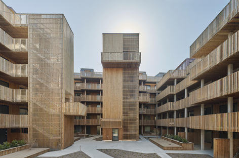 Qvillestaden by Bornstein Lyckefors, sustainable housing in wood