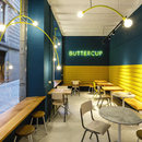 Buttercup, a coffee shop in Girona
