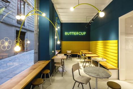Buttercup, a coffee shop in Girona
