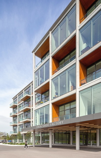 From shoe factory to sustainable, mixed-use building