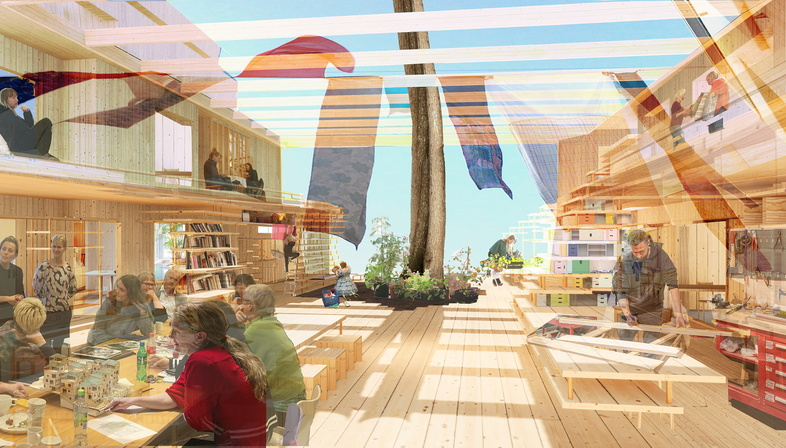 2021 Architecture Biennale, the Nordic Pavilion as experimental cohousing