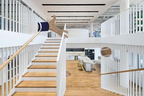 Studio Perspektiv designs the FEG offices in Prague
