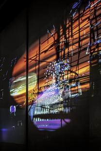 Sarah Sze's Night into Day at Fondation Cartier