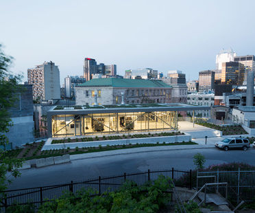 McGill University's new power plant by Les architectes FABG