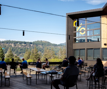 Skylab creates Outpost, a sustainable structure in Oregon