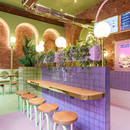 Masquespacio comes to Italy to design the Bun interior in Milan