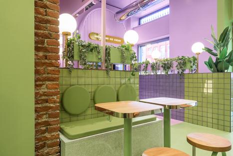 Masquespacio comes to Italy to design the Bun interior in Milan