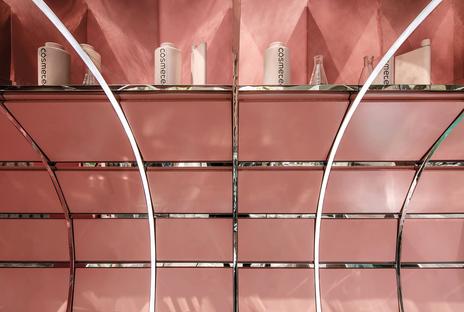 Nax Architects designs Cosmetea's pop-up shop in Shanghai