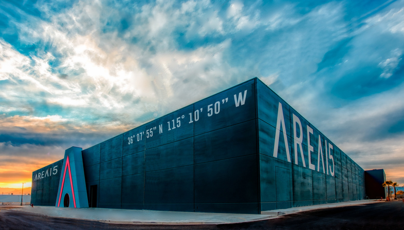 Area15, an immersive experiential shopping centre in Las Vegas