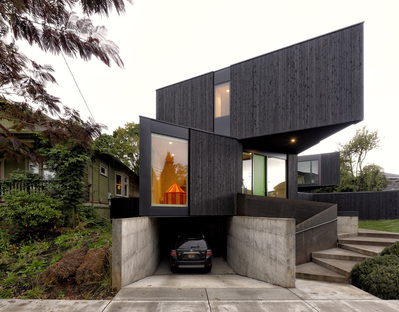 Taft, a prefabricated home by Skylab Architecture in partnership with MethodHomes