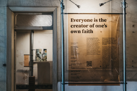 Everyone is the creator of one's own faith exhibition by AD Leb in Beirut
