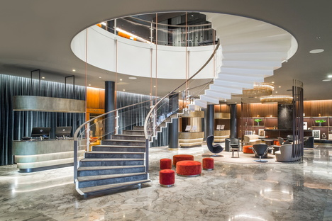 Exhibition marking the 60th birthday of Arne Jacobsen's SAS Royal Hotel