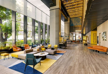 New hotel in Taipei designed by Cheng Chung Design CCD