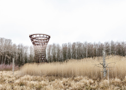 Forest Tower by Studio EFFEKT: a way to reconnect with nature
