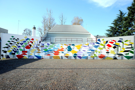 Murals for Ivrea, added to UNESCO World Heritage List as an industrial city of the 20th century