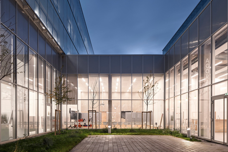 French architecture firm Coldefy has created a new centre for sustainable transport