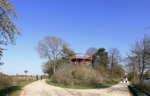 Stadtkrone, land art by Observatorium in Dorsten